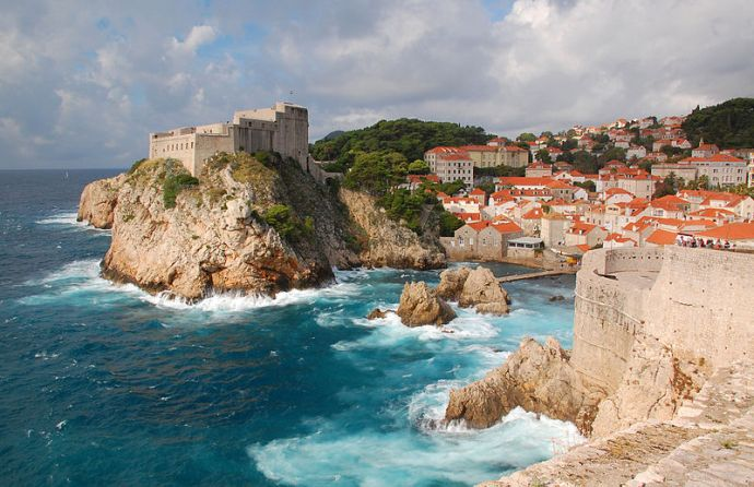 The old city of Dubrovnik, Croatia